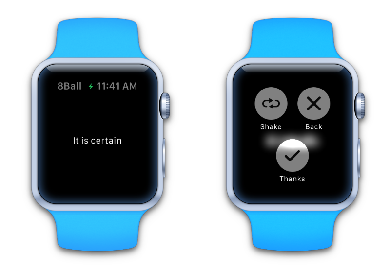 magic eight ball apple watch app