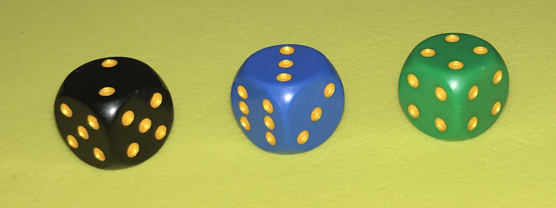 non-transitive dice